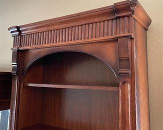 Pulaski Cherrywood Bookcase #293x34x16inHHxWxD