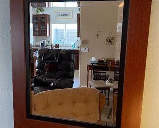 Wood Frame Mirror27x23