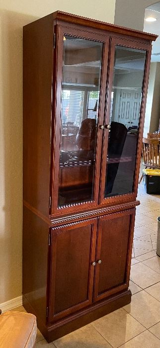 AS-IS Bombay Display Cabinet76x29x16inHxWxD