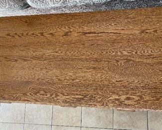 Solid Oak Desk30x48x22inHxWxD