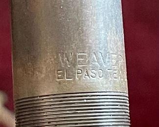 Vintage Weaver Scope B4 Brass11.5in Long