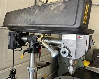 """Central Machinery 44846 34"""" Floor Radial Drill Press67x13x33inHxWxD"""