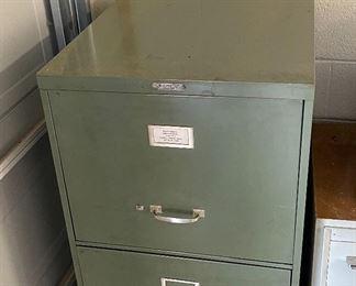 Steelmaster Large Vintage File Cabinet Industrial54x21x28inHxWxD