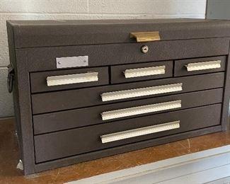 Kennedy 266 6 drawer Mechanics Tool Chest Box 266-41664315x26x12.5inHxWxD