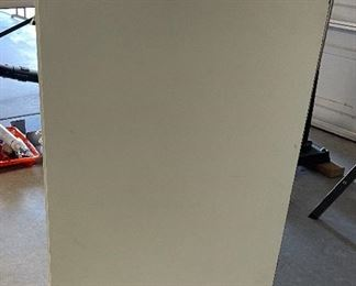 Rolling Wood Garage 3-Drawer Chest37x36x20inHxWxD