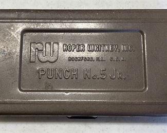 Roper Whitney Punch No. 5