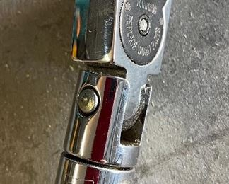 """Snap-on 3/8"""" Flex Drive Torque Wrench 275E12.25in long"""