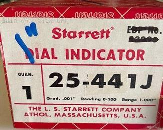 Starrett 25-441j Dial indicator in box