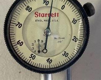 Starrett 25-441 Dial indicator No Box
