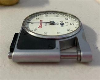 Starrett 1010 Dial Indicator Pocket Gauge