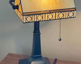 FLW Style Desk Lamp