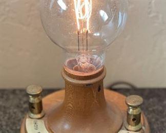 Edison Lamp Replica 1979