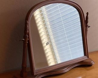Vintage Table Top Mirror20x29x6inHxWxD