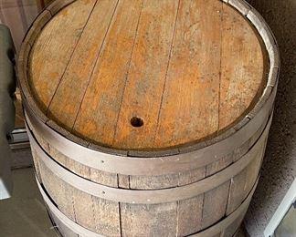 Vintage Oak Whisky barrel #235in h x 24 diameter
