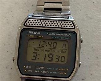 Seiko Vintage Digital Chronograph Watch A259-5049