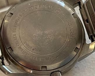 Swiss Army Watch Vintage Date