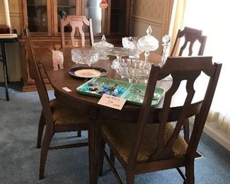 MCM Dining Table and 4 Chairs