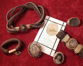 Victorian Mourning Jewelry Collection