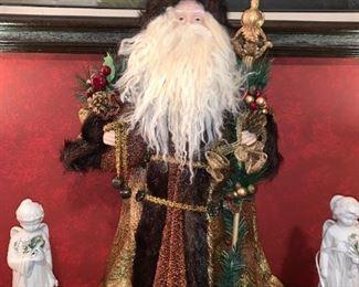 Santa/Father Time Figurine