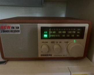 Vintage working radio