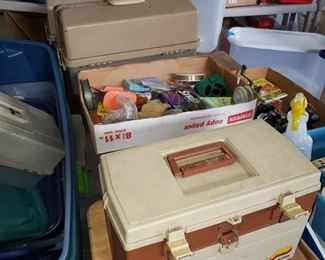 Fishing Boxes and Equipment