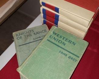 Vintage Zane Grey with Newer Zane Grey