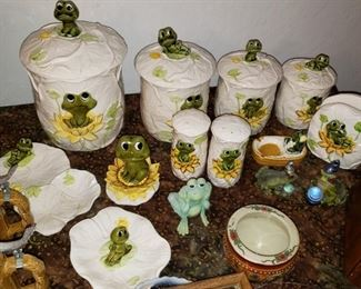 Some of the frog collection