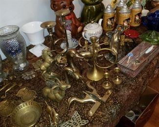 A large Brass Collection