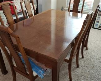 Dining Table and 6 Chairs - maker to come