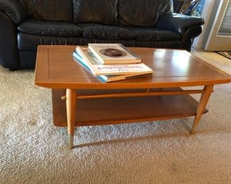 Lane midcentury coffee table
