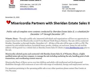 Picture of Sheridan Press Release