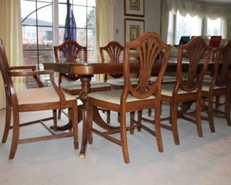 8 DINING CHAIRS