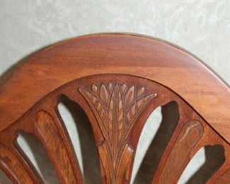 DETAIL ON CHAIR