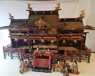 Japanese Girl's Day Palace doll house