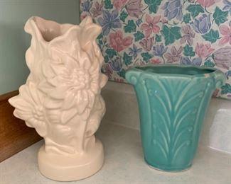 $30.00.............Nice Vintage Pottery Vases (P890)