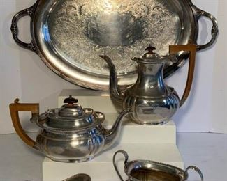 Art Deco Coffee Tea Service