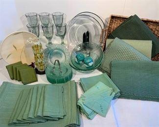 Linen Envy or Simply Green