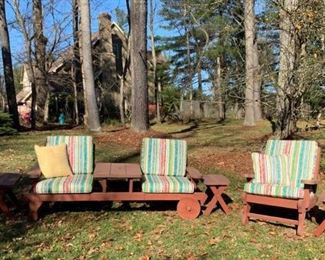 Redwood Outdoor Furniture I