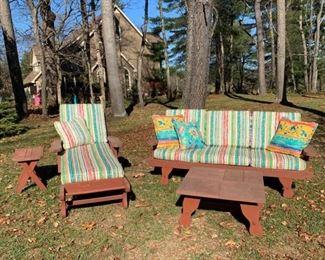 Redwood Outdoor Furniture II