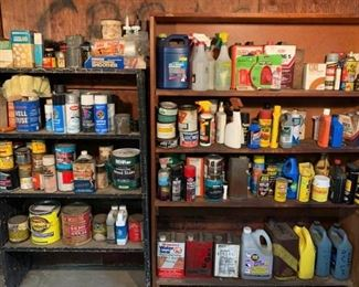 Shelves Stocked with Supplies