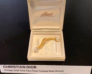 Vintage Christian Dior Pin