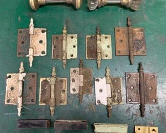 Vintage Pulls and Hinges