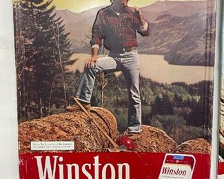 1980 Winston Metal Sign