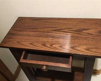 Cute entryway table with shelf $45 24x12x30