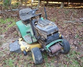Parts only John Deer mower