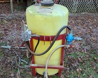 65 gallon chemical sprayer