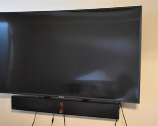 Samsung Flatscreen TV with BOSE Sound system, purchased in the spring of this year and has a BOSE Sound System