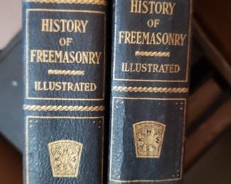 History of Freemasonry books