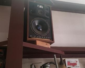 big old speakers