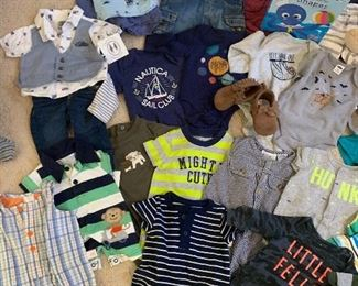 More examples of infant boy clothing we offer